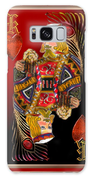 King Of Hearts Galaxy Case