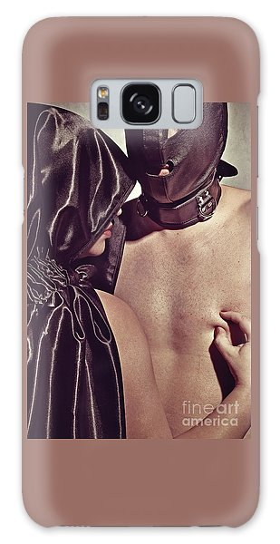 Kinky Play Man And Woman Galaxy Case
