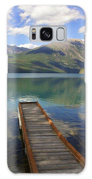 Kintla Lake Dock Galaxy Case