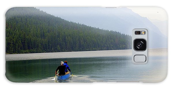 Kintla Lake Paddlers Galaxy Case