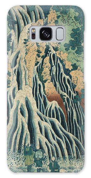 Waterfall Galaxy Case - Kirifuri Falls by Hokusai