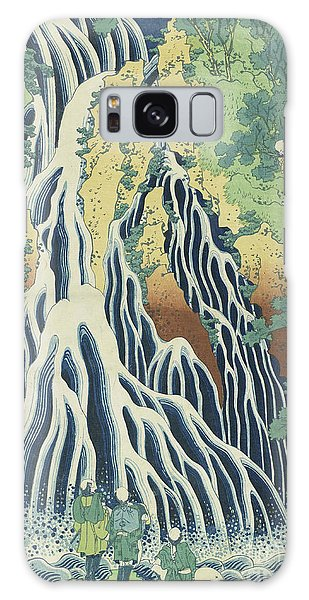 Waterfall Galaxy Case - Kirifuri Falls Near Mount Kurokami In Shimotsuke Province by Hokusai
