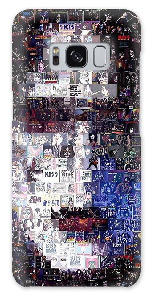Kiss Ace Frehley Mosaic Galaxy Case by Paul Van Scott