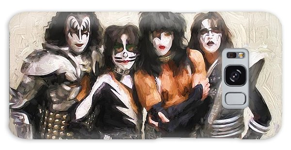 Kiss Band Galaxy Case by Steven Parker