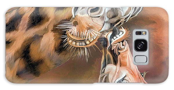 Mama Africa Galaxy Case - Kiss For Mama by Carol Cavalaris