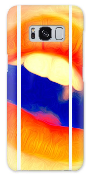 Kiss Me-triptych Galaxy Case