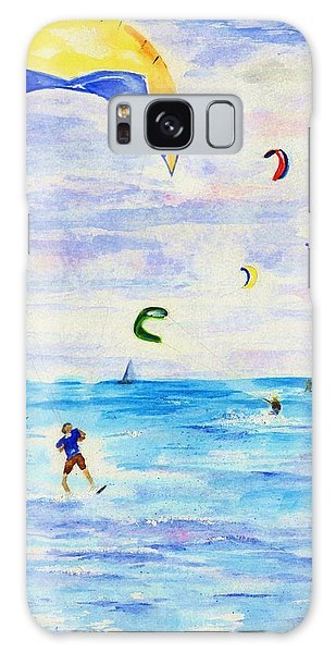 Kite Surfer Galaxy Case by Jamie Frier