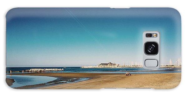 Kitesurf On The Beach Galaxy Case