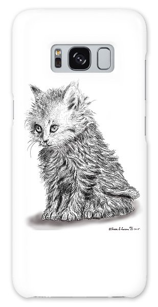 Kitten #1 Galaxy Case