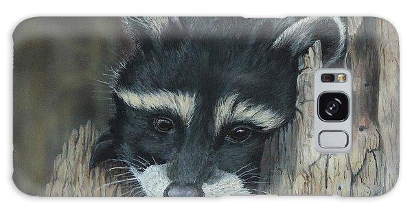 Kit...the Baby Raccoon Galaxy Case