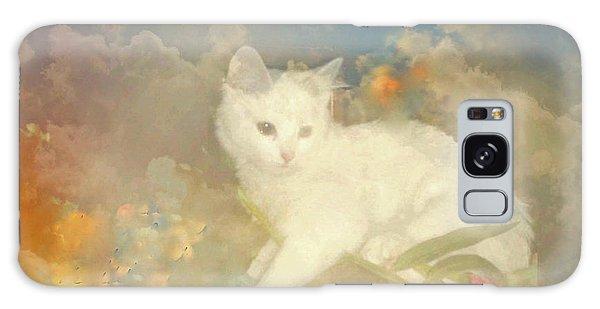 Kitty Art Precious By Sherriofpalmsprings Galaxy Case by Sherri's Of Palm Springs