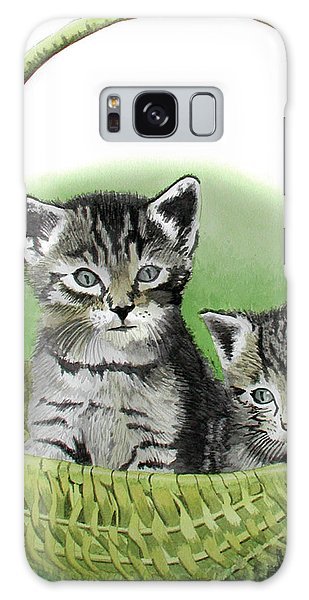 Kitty Caddy Galaxy Case by Ferrel Cordle