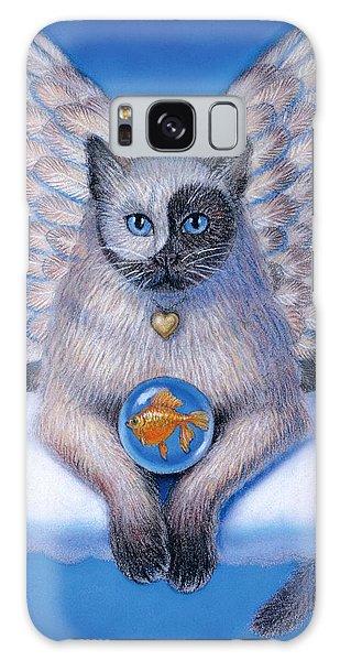 Kitty Yin Yang- Cat Angel Galaxy Case
