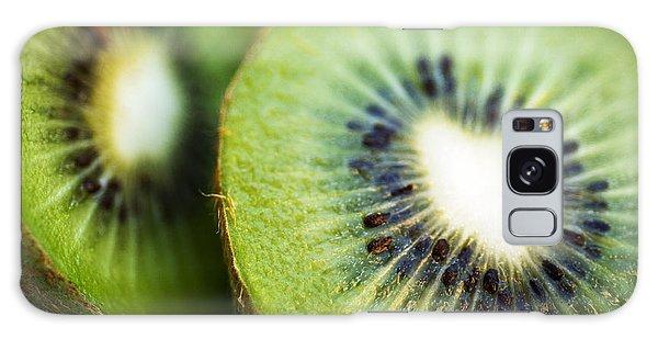 Kiwi Fruit Halves Galaxy Case