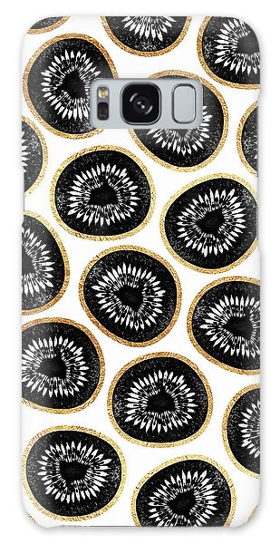 Kiwi Pattern Galaxy Case by Elisabeth Fredriksson