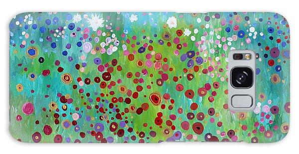 Klimt's Garden Galaxy Case
