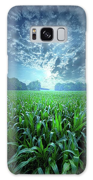 Galaxy Case featuring the photograph Knee High by Phil Koch