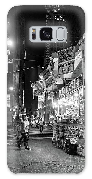 Knish, New York City  -17831-17832-bw Galaxy Case