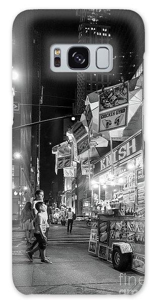 Knish, New York City  -17831-17832-bw Galaxy Case by John Bald