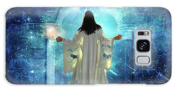 Knocking On Heavens Door Galaxy Case by Dolores Develde