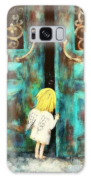 Knocking On Heaven's Door Galaxy Case