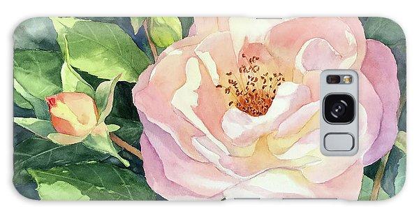 Knockout Rose And Buds Galaxy Case by Vikki Bouffard