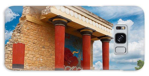 Knossos Palace At Crete, Greece Galaxy Case