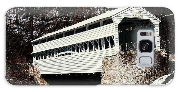 Knox Covered Bridge Historical Place Galaxy Case