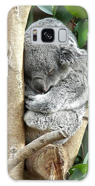Koala Galaxy Case by Carol  Bradley