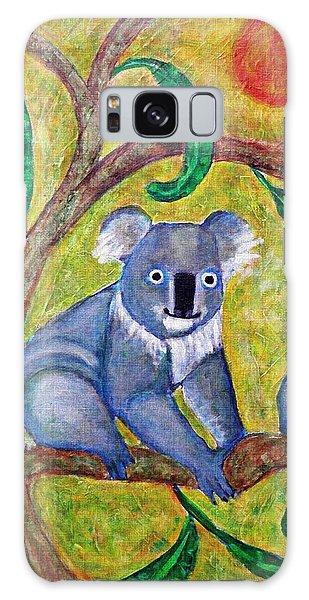 Koala Sunrise Galaxy Case