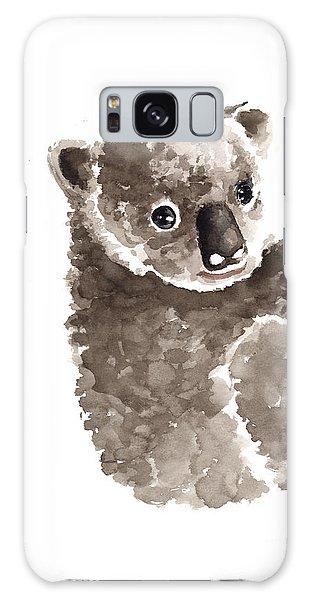 Koala Galaxy Case - Koala Watercolor Art Print Painting by Joanna Szmerdt