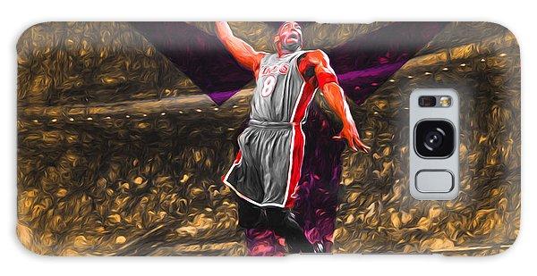 Kobe Bryant Black Mamba Digital Painting Galaxy Case