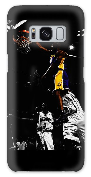 Kobe Bryant On Top Of Dwight Howard Galaxy Case