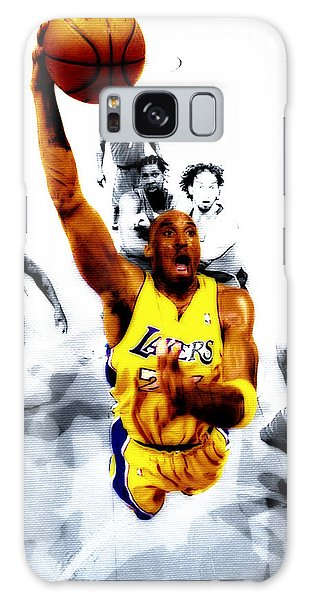 Kobe Bryant Took Flight Galaxy Case by Brian Reaves