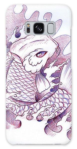 Koi Galaxy Case - Koi Carp Tattoo Art by Samuel Whitton