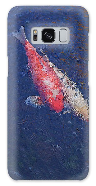 Koi Fish Partners Galaxy Case