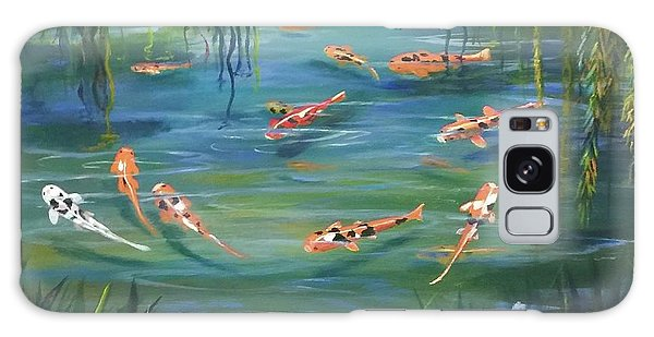 Koi In The  Willows Galaxy Case