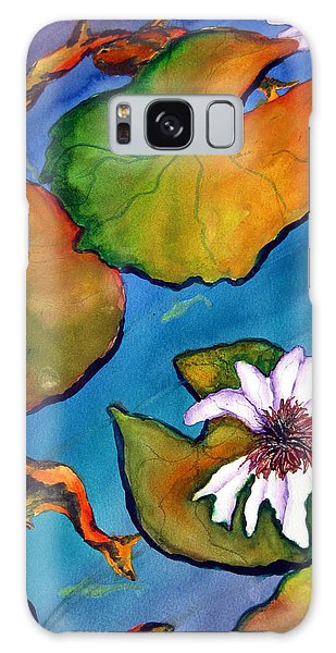 Koi Pond II Sold Galaxy Case by Lil Taylor