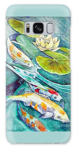 Koi Pond Galaxy Case