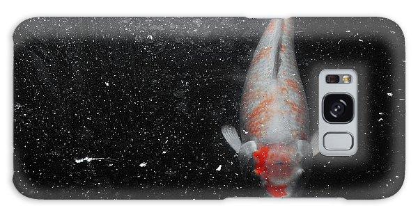 Koi Approach Galaxy Case by Deborah  Crew-Johnson