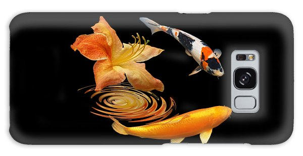 Koi With Azalea Ripples Galaxy Case