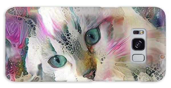 Koko The Siamese Kitten Galaxy Case