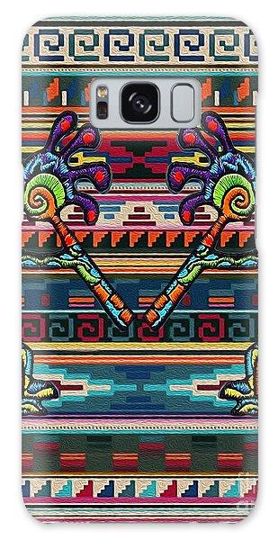 Kokopelli Art Galaxy Case