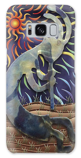 Kokopelli Spring Galaxy Case