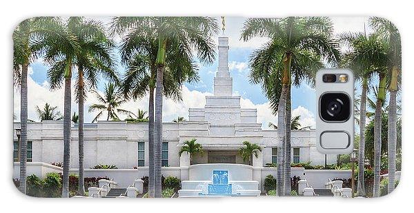 Kona Hawaii Temple-day Galaxy Case by Denise Bird