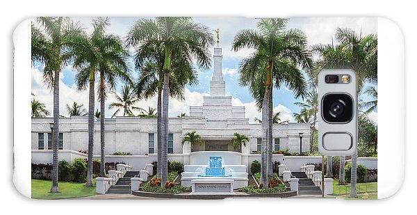 Kona Hawaii Temple-day Galaxy Case
