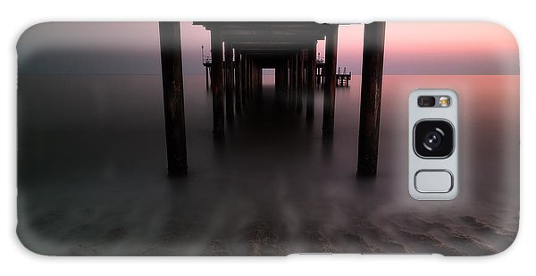 Ocean Sunset Galaxy S8 Case - Konakli Pier by Tor-Ivar Naess
