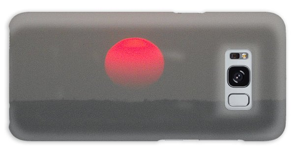 Konza Sunset Galaxy Case