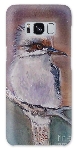 Kookaburra Fancy Galaxy Case by Leslie Allen
