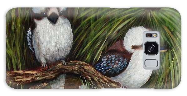 Kookaburras Galaxy Case by Renate Voigt